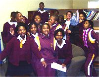 Oscar Mpetha High School Pupils